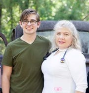 Richard Deal, left, and his mother, Katie Deal, both Class of 2020 graduates at Tallahassee Community College
