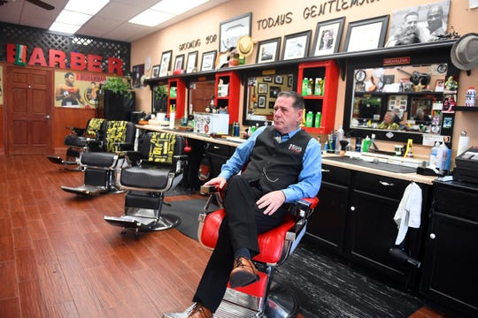 Scott Young is the owner and operator of The Hair Shop for Men in Indian River County. Young opened his barbershop on May 1. Scott feels barbershops and salons should be part of the Phase 1 opening of the state by Florida Gov. Ron DeSantis.