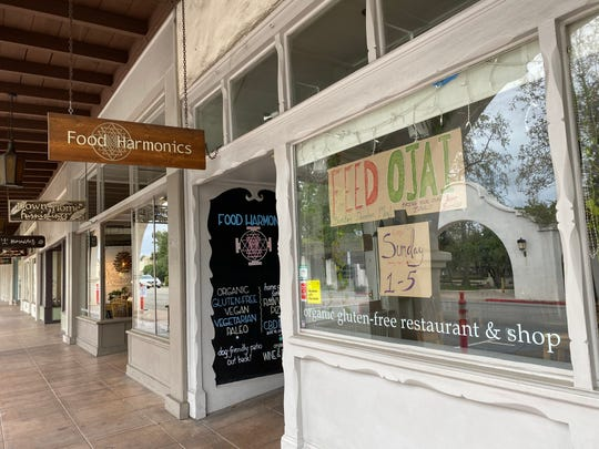 Food Harmonics in Ojai has been the pickup location for Feed Ojai meals during the coronavirus pandemic. Specializing in organic, gluten-free fare, the restaurant was scheduled to reopen for takeout from its own menu on May 8, with service from noon to 6 p.m. Fridays and Saturdays thereafter.
