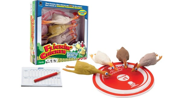 Flickin' Chicken might be your new favorite game.