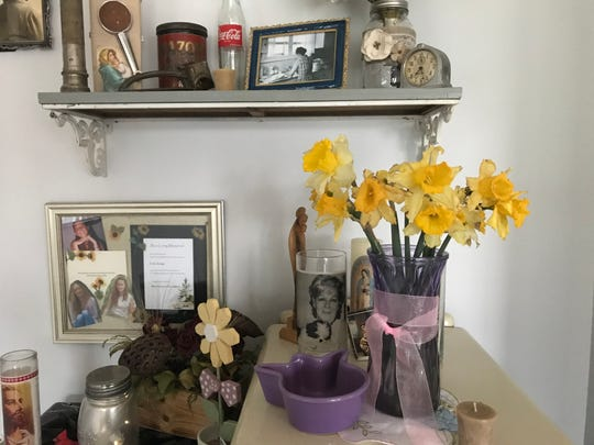 """Nicole Victoria exchanged a soda for a bouquet of daffodils from her neighbor's garden. """"The flowers became a symbol of hope to me. A remembrance of times when we weren't so closed off from our neighbors,"""" she says."""