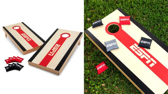 This cornhole set is one of the best.