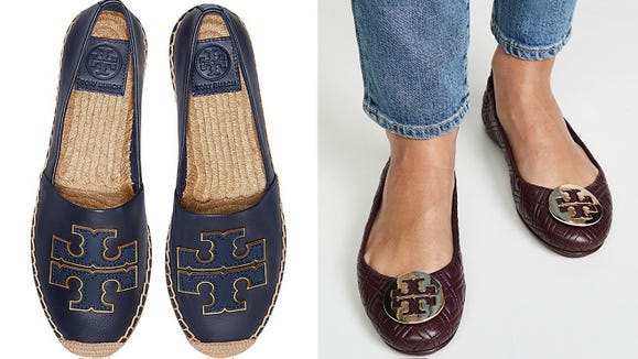 These signature Tory Burch styles are way more affordable—for now.