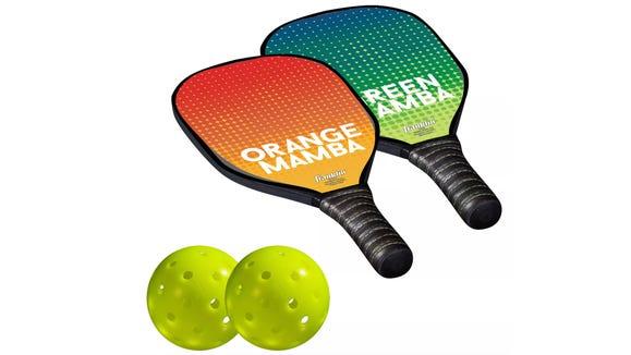 A tennis, badminton, table tennis fusion.