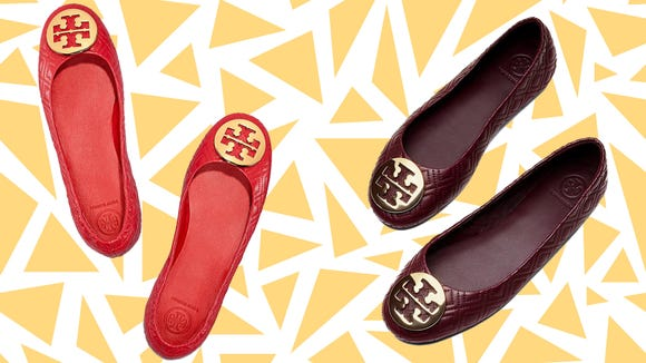 Snag these Tory Burch flats at an amazing discount.