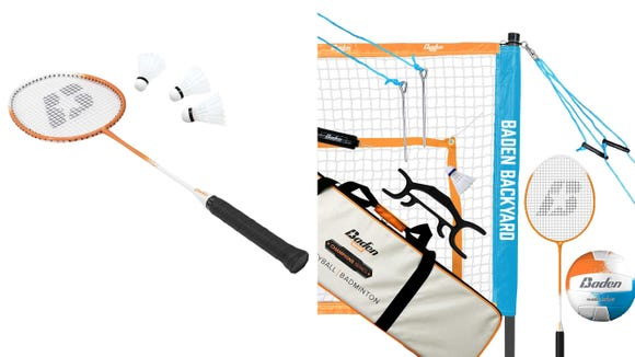 Get your badminton and volleyball fix with this set.