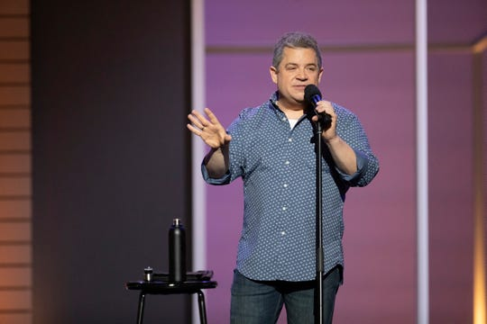 """Patton Oswalt in a scene from his 2020 Netflix comedy special """"Patton Oswalt: I Love Everything."""""""