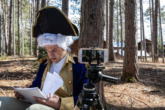 "David Hoffman, an actor who lives outside Stowe, is creating a web series in which George Washington arrives in 2020 to help deal with the COVID-19 pandemic. Hoffman is perhaps best known for his role in the ""LiMu Emu & Doug"" commercials for Liberty Mutual."