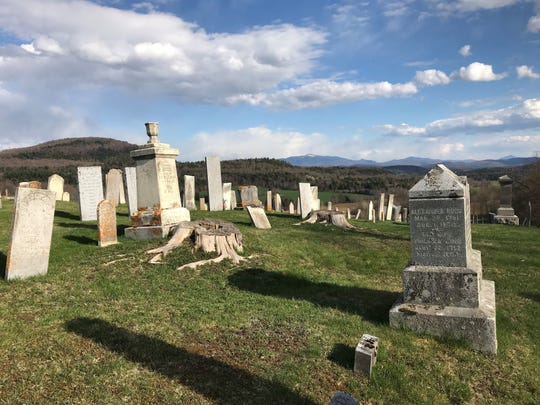 Graveside services in Vermont are limited to 10 people.
