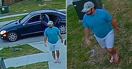 Corpus Christi police are seeking a man suspected of stealing two high-end bicycles worth $3,500. Anyone with information should call Crime Stoppers at 361-888-8477.