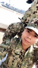 Carroll High School graduate Nicholas Vara served on the USNS Comfort.