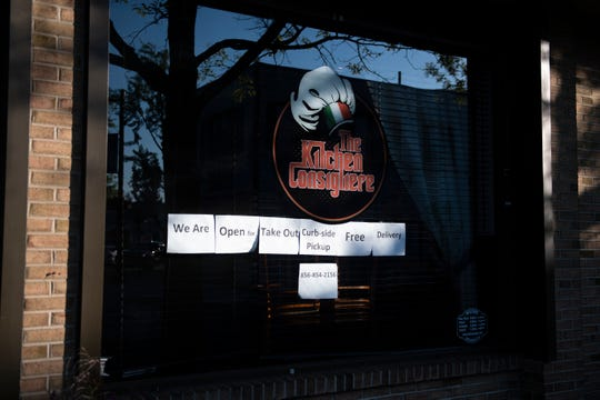 The Kitchen Consigliere remains open for take out in Collingswood, N.J. on Thursday May 7, 2020.