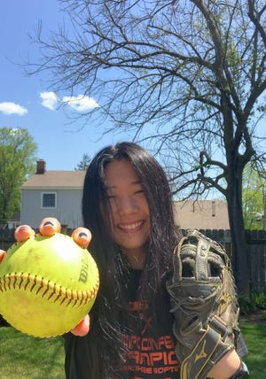Cherokee's Isabella Witham was a versatile, difference maker on the softball team for three seasons.