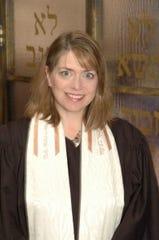 Rabbi Sigma Faye Coran of Rockdale Temple.