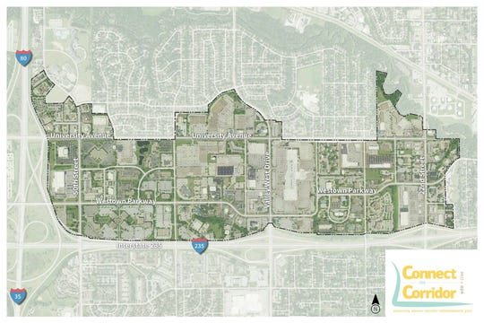 West Des Moines and Clive seek input on University Avenue corridor.