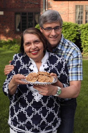 Clida Ellison, 76, Detroit, appears on Mo Rocca's Cooking Channel Show, My Grandmother's Ravioli.