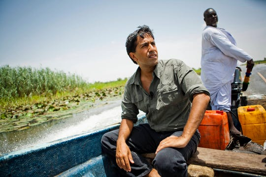 The Planet in Peril crew explores environmental issues around Lake Chad with Dr. Sanjay Gupta in Chad, Niger, Cameroon, and Nigeria, June 6-16, 2007.