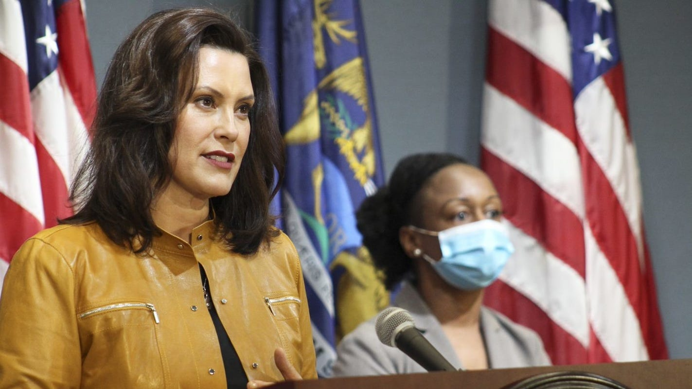 Whitmer: I censor myself when speaking publicly about Trump to receive federal assistance