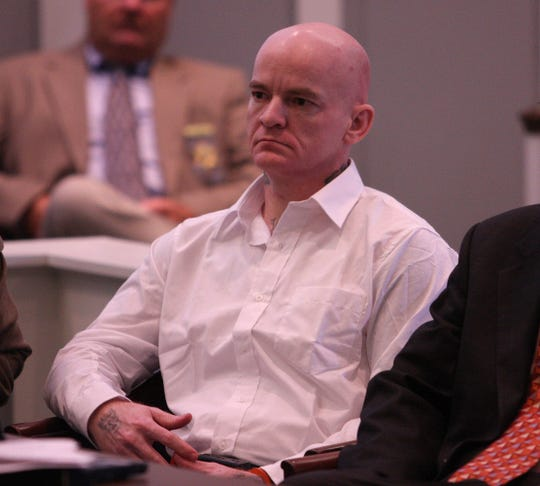 Jerry Buck Inman appears in Pickens County Court before Judge Ned Miller for the third day of testimony  Sept. 10, 2008 in Pickens, S.C. Inman pleaded guilty to killing Tiffany Marie Souers in May 2006 at her apartment near the Clemson University campus.