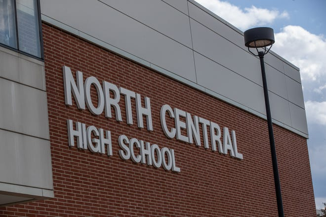 North Central High School on Thursday, May 7, 2020.