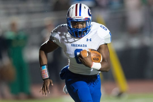 UL soft commit Jasper Williams played at Grenada High in Mississippi.