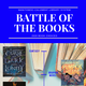 Poster for Manitowoc Public Library's summer 2020 Battle of the Books competition.