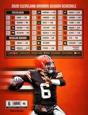 Browns 2020 schedule