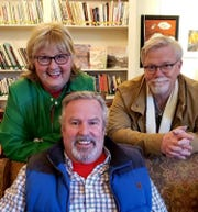 A team of three friends created the five-book series, which includes Shary Williamson as the author, Jay Johnston as the illustrator and Russ Kendall as the creative coordinator.