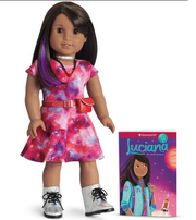 The American Girl doll Luciana Vega