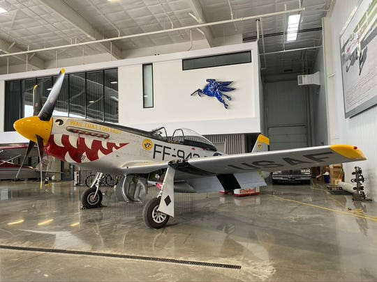 Three P51 Mustangs and Goodyear F2G Super Corsair will fly over Mountain Home at 4 p.m. Saturday.