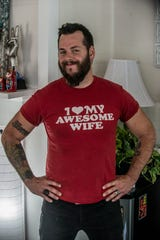 Justin Turberville is proud of his awesome wife, Jonna.