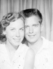 Patricia Gibbons and her husband David Gibbons pose for a photo when they were 16. The couple moved to North Naples in 2007 and Patricia Gibbons, 76, died because of COVID-19 on April 21, 2020.