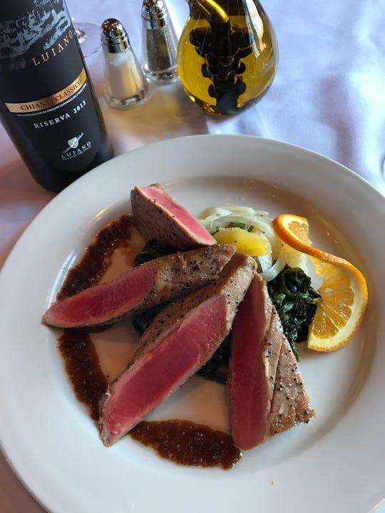 Pan seared tuna by BV Tuscany
