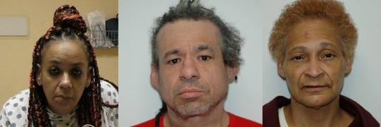 The Paramus Police Department announces the arrest Tonya Hanner, 53 yoa, of Mount Vernon, NY, Richard Craig Caldwell, 54 yoa, of Brooklyn NY, and Yolanda Emery, 60 yoa, of Yonkers, NY, , for the theft of liquor.