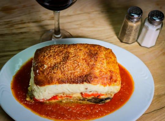 Angelo's Meatless Lasagna