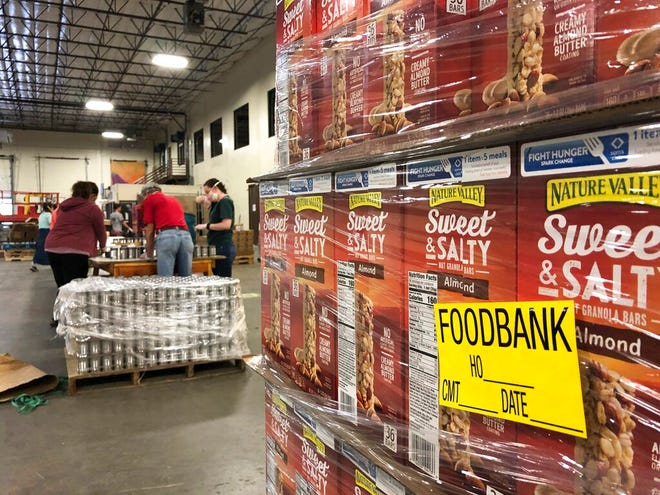 New Mexico food banks will be able to provide more meals for thousands of families with an infusion of $5 million in funding as part of an economic relief package approved by state lawmakers and signed by the governor.