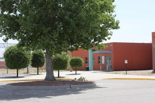 The  Doña Ana County Juvenile Detention Facility, Friday May 8, 2020.
