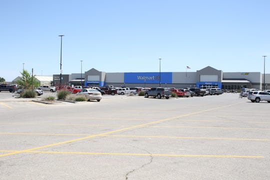Vehicles parked at the Artesia Walmart on May 8, 2020. State Rep. Jim Townsend (R-54) said public health orders issued by Gov. Michelle Lujan Grisham have benefited major retailers and hurt small businesses.