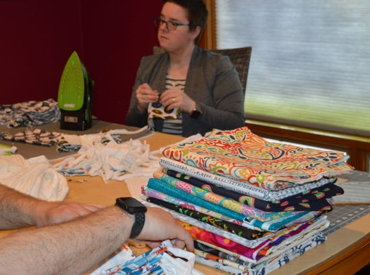 The Harr family has supporters taking care of their material and fabric needs.