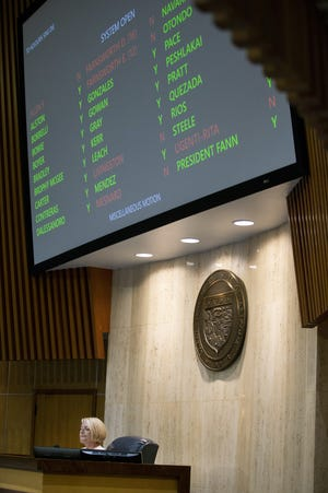 The state Senate votes to adjourn on May 8 ⁠— and again on May 26, 2020. The session was a bust for some of the most closely watched proposals, such as a bid to double the gas tax and legislation to help firefighters with workers compensation claims.