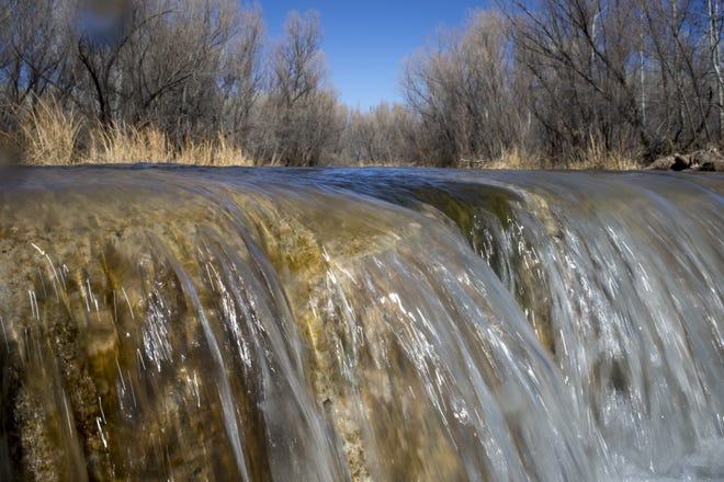 The Verde River at Clear Creek, Camp Verde, Arizona.