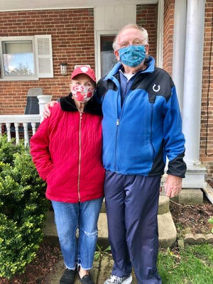 Sue and Jim Hammontree of Fountain City are recovering from their fights against COVID-19.