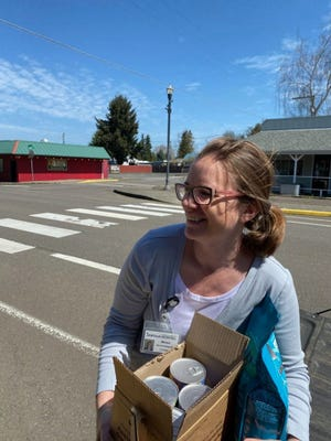 Santiam's delivery program is run by volunteers and is completely free of charge.