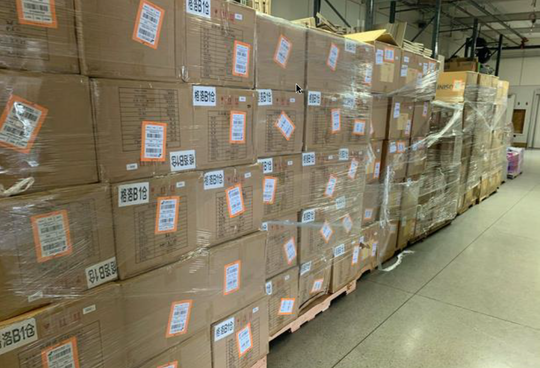 The Monterey County Emergency Medical Services Agency Medical Operation Area Coordinator (MHOAC) obtained 750,000 facemasks for farmworkers Thursday.