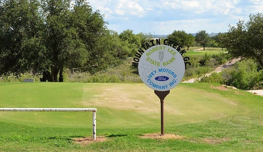 Mountain Creek Golf Course gives the Robert Lee High School golf teams an advantage over other small towns that don't have a course in their hometown.