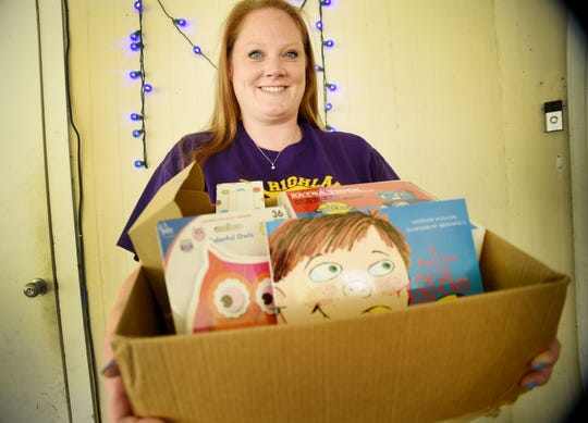 """Shannon Moore teaches kindergarten at North Highlands Elementary in Shreveport. She is one of thousands of teachers to be """"adopted"""" through a Facebook group honoring educators for Teacher Appreciation Week during quarantine."""