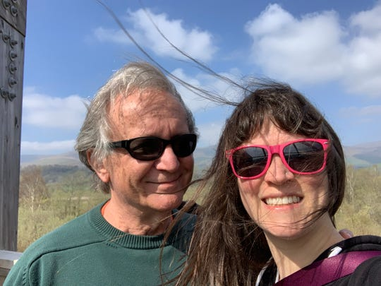 Earl Beddow Jr. and his daughter, Sonya, pose for a self-portrait. Beddow, a retired attorney who lives in St. Paul, recently cancelled his reservation at the South Dakota State Game Lodge because of how state officials responded to the coronavirus pandemic.