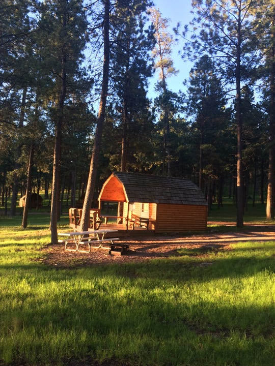 A cabin at the State Game Lodge where Earl Beddow Jr has stayed during one of his visits to South Dakota. Beddow, a retired St. Paul attorney, cancelled a June reservation because of how state officials handled the coronavirus pandemic.