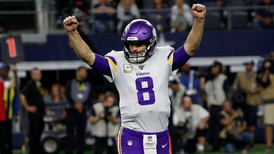 Kirk Cousins and the Vikings are scheduled to open the 2020 season at home against the Packers