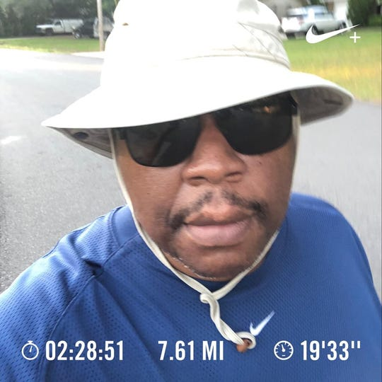 Vaughn Wilson is the co-founder of the OB-FIT/Mega Ace 45-Mile Challenge Group.